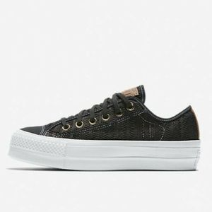 Converse platform women's shoes